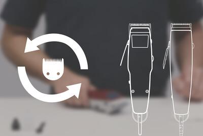 Bıçak Bakımı ve Değişimi -MOSER 1400 / 1230